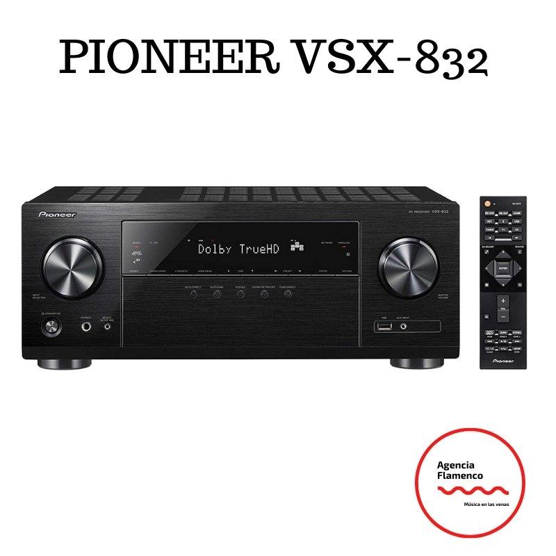 2. Pioneer VSX-832 - Amplificador Hifi de 130 W